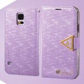 Leiers Eternal Plånboksfodral till Samsung Galaxy S5 (Lila)