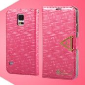 Leiers Eternal Plånboksfodral till Samsung Galaxy S5 (Magenta)