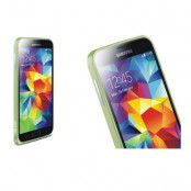 LOVE MEI 0,7mm Metal Bumper till Samsung Galaxy S5 (Grön)