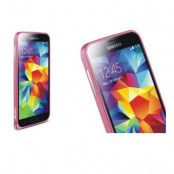 LOVE MEI 0,7mm Metal Bumper till Samsung Galaxy S5 (Rosa)