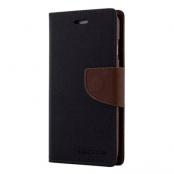 Mercury Fancy Plånboksfodral till Samsung Galaxy S5 - Svart/Brun