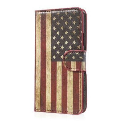Plånboksfodral till Samsung Galaxy S5 - USA