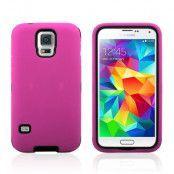 Protector Hybrid Skal till Samsung Galaxy S5 (Magenta)