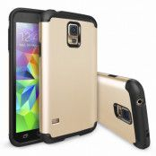 Ringke Double Layer Armor Skal till Samsung Galaxy S5 (Gold)
