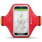 Shocksock Eziflex Armband till Samsung Galaxy S5 - Röd