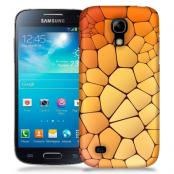 Skal till Samsung Galaxy S5 Mini - Skifferstenar - Orange