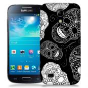 Skal till Samsung Galaxy S5 Mini - Glada dödskallar - Svart