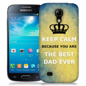Skal till Samsung Galaxy S5 Mini - Keep Calm - Best dad