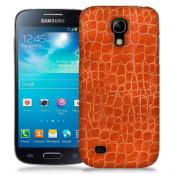 Skal till Samsung Galaxy S5 Mini - Mönster - Orange