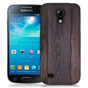 Skal till Samsung Galaxy S5 Mini - Mörkbetsat trä