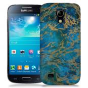 Skal till Samsung Galaxy S5 Mini - Marble - Blå