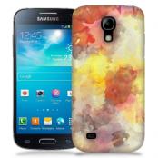 Skal till Samsung Galaxy S5 Mini - Vattenfärg - Grå/Röd