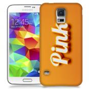 Skal till Samsung Galaxy S5 - Pink - Orange