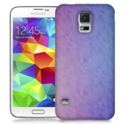 Skal till Samsung Galaxy S5 - Prismor - Lila