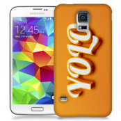 Skal till Samsung Galaxy S5 - Yolo - Orange