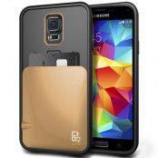 Verus Damda Skal med kortfack till Samsung Galaxy S5 - Gold
