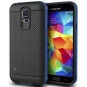 Verus Iron Shield Aluminum Metal Frame Skal till Samsung Galaxy S5 (Blå)