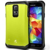 Verus Thor Skal till Samsung Galaxy S5 (Grön)