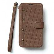 Zenus Neo Vintage Diary Väska till Samsung Galaxy S5 - (Mörk Brun)