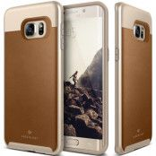 Caseology Envoy Series Skal till Samsung Galaxy S6 Edge Plus - Brun