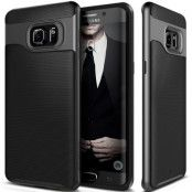 Caseology Wavelength Skal till Samsung Galaxy S6 Edge Plus - Svart