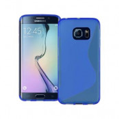 Flexicase Skal till Samsung Galaxy S6 Edge Plus - Blå