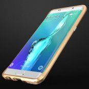 LUPHIE Rapier Prismatic Aluminum Bumper till Samsung Galaxy S6 Edge Plus - Guld