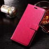 Plånboksfodral till Samsung Galaxy S6 Edge Plus - Magenta
