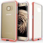 Caseology Waterfall Series BaksideSkal till Samsung Galaxy S6 Edge - Rosa