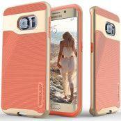 Caseology Wavelength Series BaksideSkal till Samsung Galaxy S6 Edge - Rosa