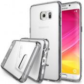 Ringke Fusion Shock Absorption Skal till Samsung Galaxy S6 Edge Plus - Grå
