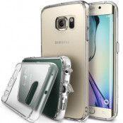Ringke Fusion Shock Absorption Skal till Samsung Galaxy S6 Edge - Clear