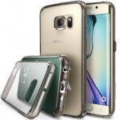 Ringke Fusion Shock Absorption Skal till Samsung Galaxy S6 Edge - Grå