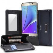Ringke Wallet Plånboksfodral till Samsung Galaxy S6 Edge - Blå
