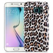 Skal till Samsung Galaxy S6 Edge + - Leopard oljefärg