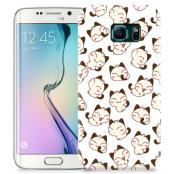 Skal till Samsung Galaxy S6 Edge + - Manga - Katter