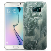 Skal till Samsung Galaxy S6 Edge + - Marble - Grön