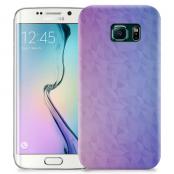 Skal till Samsung Galaxy S6 Edge + - Prismor - Lila