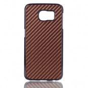 Baksideskal till Samsung Galaxy S6 - Brun