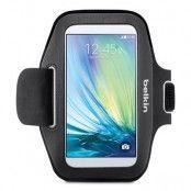 Belkin Sport Fit Armband till Samsung Galaxy S6 - Blacktop