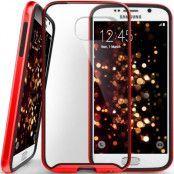 Caseology Waterfall Series BaksideSkal till Samsung Galaxy S6 - Röd