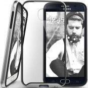 Caseology Waterfall Series BaksideSkal till Samsung Galaxy S6 - Silver