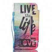 Detachable 2 in 1 Plånboksfodral till Samsung Galaxy S6 - Live Life Love