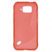Flexicase Skal till Samsung Galaxy S6 Active - Röd