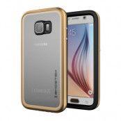 Ghostek Atmoic 2.0 Vattentätt Skal till Samsung Galaxy S6 - Gold