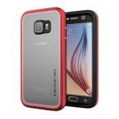 Ghostek Atmoic 2.0 Vattentätt Skal till Samsung Galaxy S6 - Röd