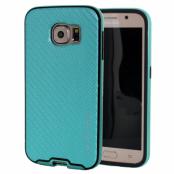Mercury Bumper Skin Skal till Samsung Galaxy S6 - Turkos