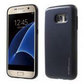 Mercury Sky Slide Skal till Samsung Galaxy S6 - MörkBlå