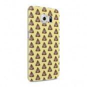 Skal till Samsung Galaxy S6 - Emoji - Bajs