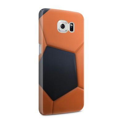 Skal till Samsung Galaxy S6 - Fotboll - Orange